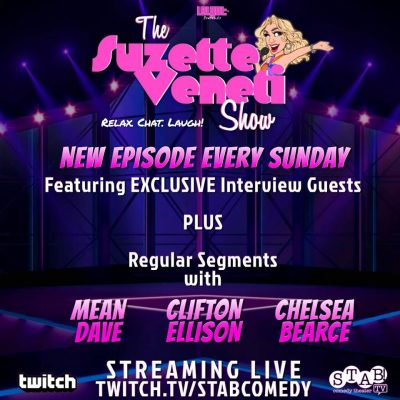 LoLGBT+ presents The Suzette Veneti Show Streaming Live