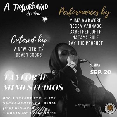 A Taylor'd Mind Art Show II (Sold Out)