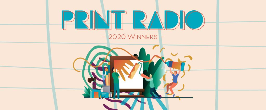 Print Radio Winners Announced!