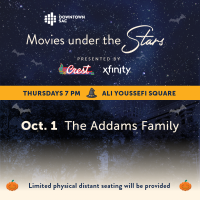 Movies Under the Stars: The Addams Family (Sold Out)