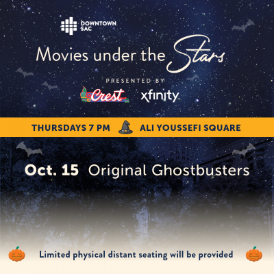 Movies Under the Stars: Original Ghostbusters (Sold Out)