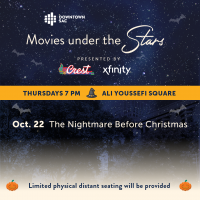 Movies Under the Stars: The Nightmare Before Christmas (Sold Out)