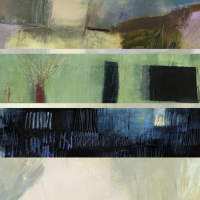 Surface History: Layered Mixed Media Paintings Workshop with Sara Post