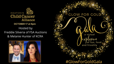 Glow for Gold Gala Virtual Explosion