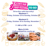 CA State Fair Food Festival To-Go