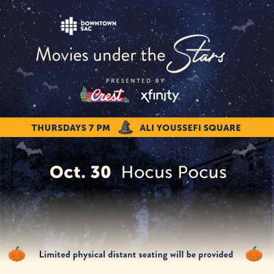 Movies Under the Stars: Hocus Pocus (Sold Out)