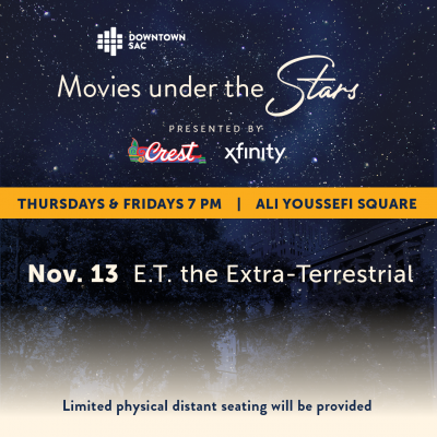 Movies Under the Stars: E.T. the Extra-Terrestrial (Cancelled)