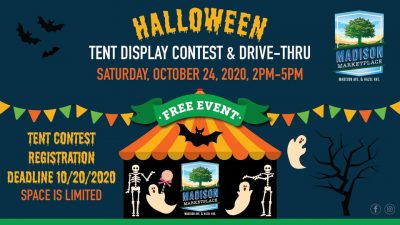 Halloween Tent Display Contest and Drive-Thru at Madison Marketplace