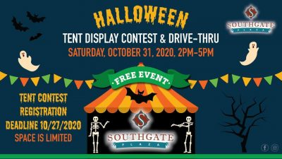 Halloween Tent Display Contest and Drive-Thru at Southgate Plaza