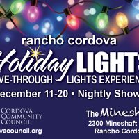 Rancho Cordova Holiday Lights Drive-Through