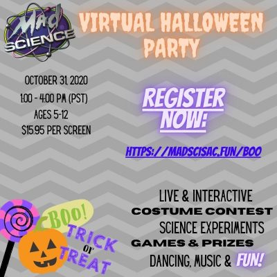 Mad Science Virtual Halloween Party