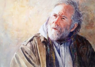 Expressive Portrait Painting in Watercolor with Misuk Goltz