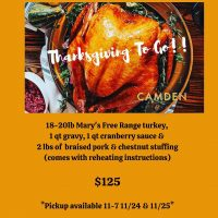 Camden Spit and Larder Thanksgiving To Go