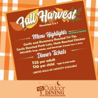Fall Harvest Outdoor Dining at Sutter Health Park