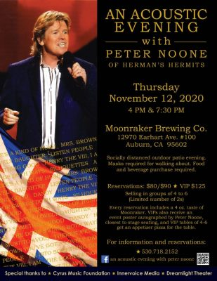 An Acoustic Evening with Peter Noone