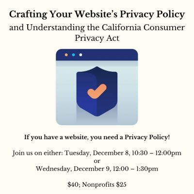 Crafting Your Website's Privacy Policy