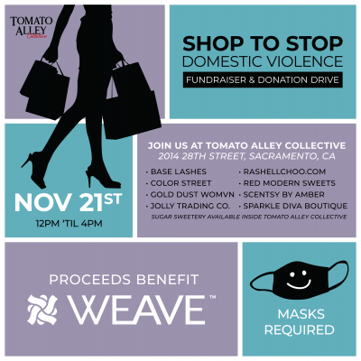 Shop to Stop Domestic Violence Pop-Up