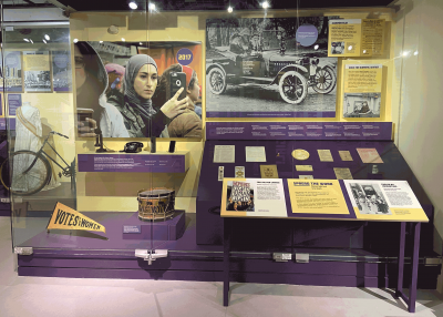Fight for the Right: 100 Years of Women Voting (Temporarily Closed)