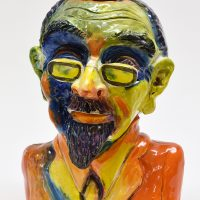 Jeff Nebeker: Celebrating Expressionist Couples and Donuts