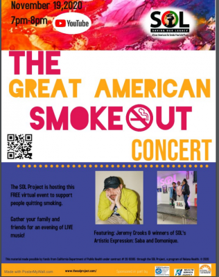 Great American Smoke-Out Concert