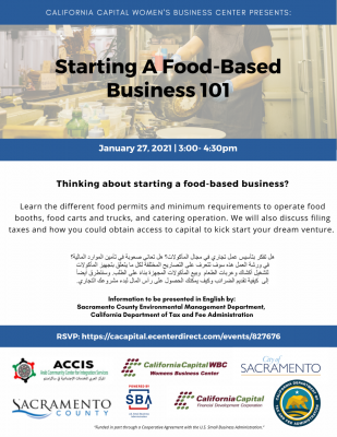 Starting a Food-Based Business 101