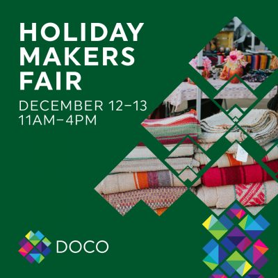DOCO Holiday Makers Fair (Rescheduled)