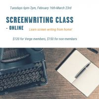 Screenwriting Class