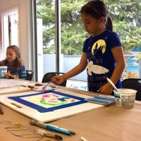 ArtSmart After School Class: Writing and Symbols in Art