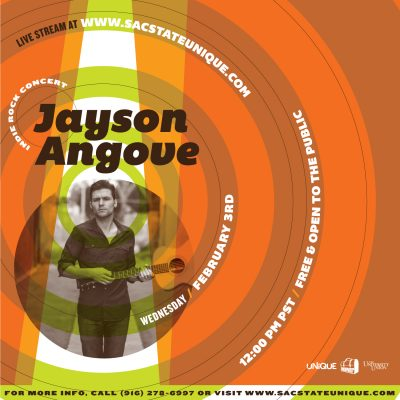 Jayson Angove: Indie Rock Concert