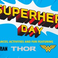 Superhero Day at the Aerospace Museum of California
