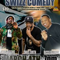 Laughs Unlimited presents Swizz Comedy