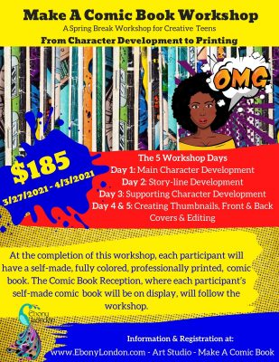 Make a Comic Book Workshop