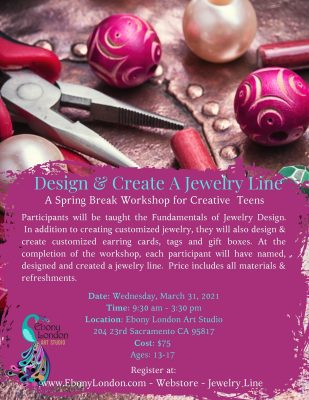 Design and Create A Jewelry Line