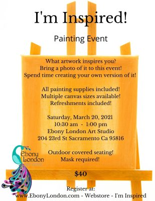 I'm Inspired Painting Event