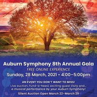 Auburn Symphony Virtual 8th Annual Gala