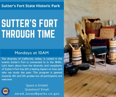 Sutter's Fort Through Time