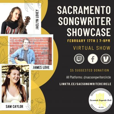 Sacramento Songwriter Showcase