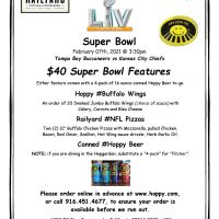Super Bowl Viewing Party
