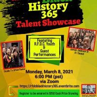 Black History 365 Talent Showcase by Roberts Family Development Center