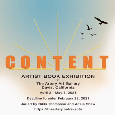 C O N T E N T: Artist Book Exhibit