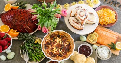 Easter Brunch at Home with Selland's