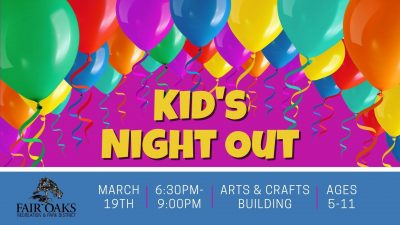 Kid's Night Out