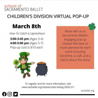 How to Catch a Leprechaun Children's Division Virtual Pop-Up