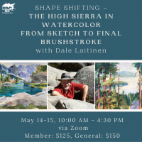 Shape Shifting: The High Sierra in Watercolor from Sketch to Final Brushstrokesaitinen