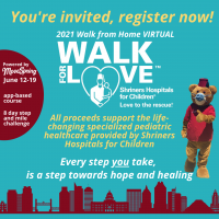 Shriners Hospitals for Children Virtual Walk for Love