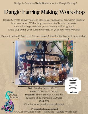 Dangle Earring Making Workshop