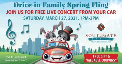 Drive-in Family Spring Fling (SOLD OUT)