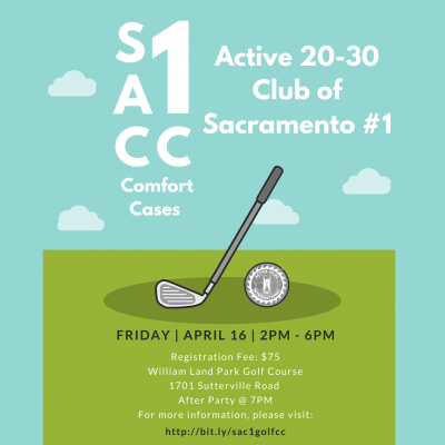 Active 20-30 Sacramento No. 1 Golf Event