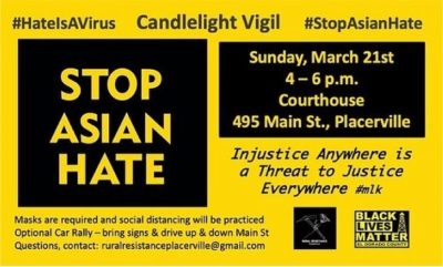 Stop Asian Hate Candlelight Vigil