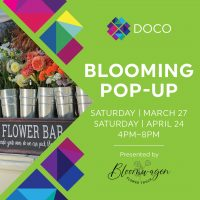 Blooming Pop-up in DOCO (Canceled)